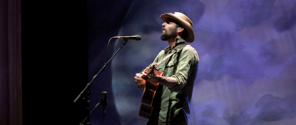 Ray Lamontagne live at The SEC Armadillo
