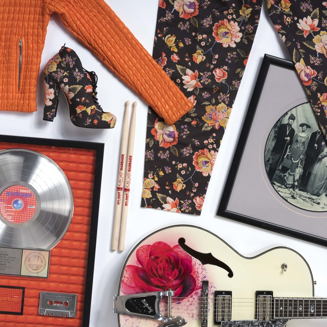 Garbage and Shirley Manson objects