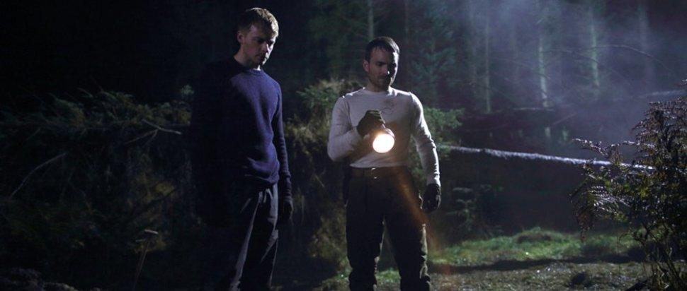 Vaughn (Jack Lowden) & Marcus (Martin McCann) in Calibre