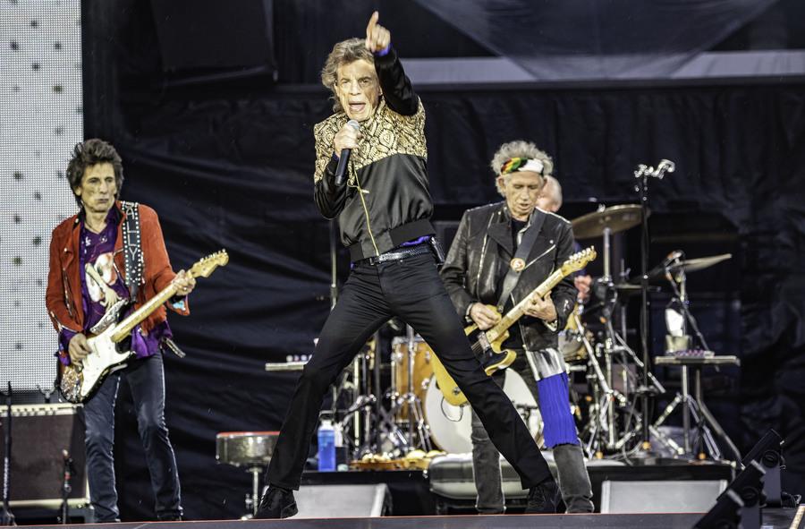 The Rolling Stones live at Murrayfield, Edinburgh, 9 Jun