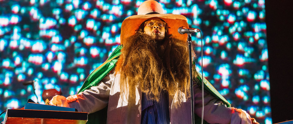 Erykah Badu at Field Day 2018