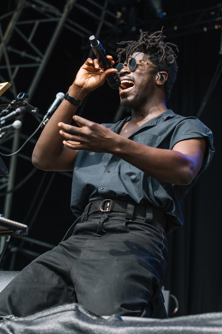 Moses Sumney at Field Day 2018