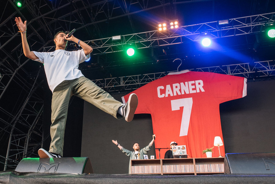 Loyle Carner at Field Day 2018
