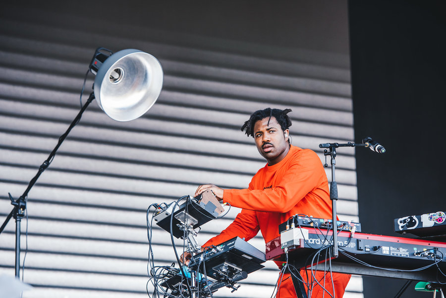 Sampha live at Parklife, Heaton Park, Manchester, 2018