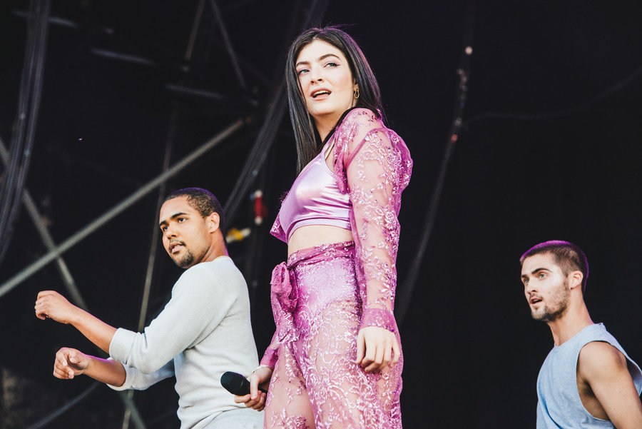 Lorde live at Parklife, Heaton Park, Manchester, 2018
