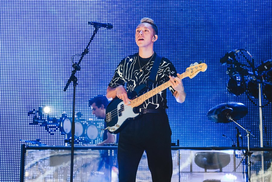 The xx live at Parklife, Heaton Park, Manchester, 2018