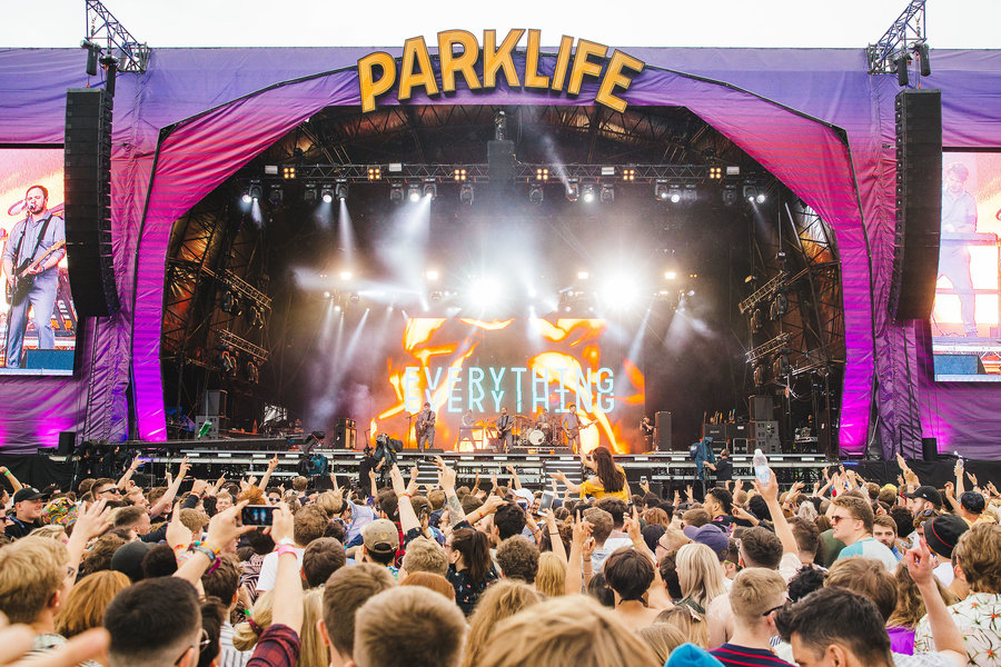 Everything Everything live at Parklife, Heaton Park, Manchester, 2018