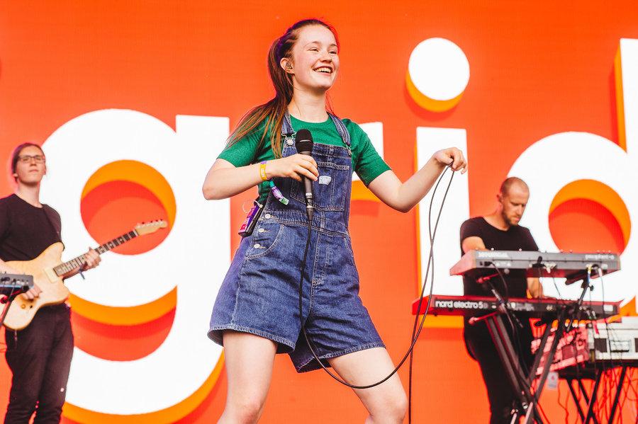 Sigrid live at Parklife, Heaton Park, Manchester, 2018