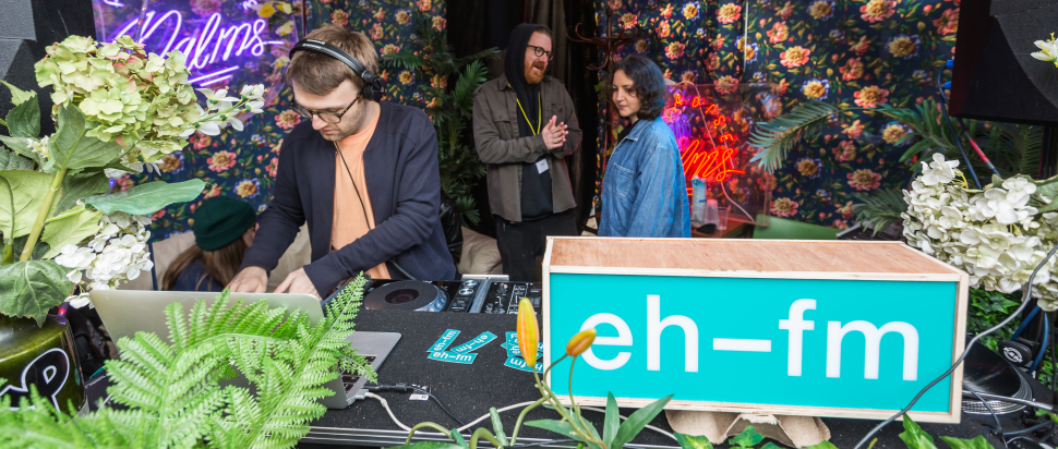 EH-FM at Hidden Door 2018