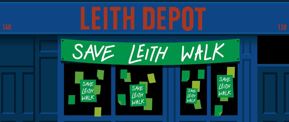 Leith Depot Save Leith Walk