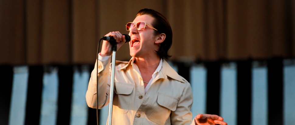 Arctic Monkeys live at TRNSMT 2018, Glasgow Green