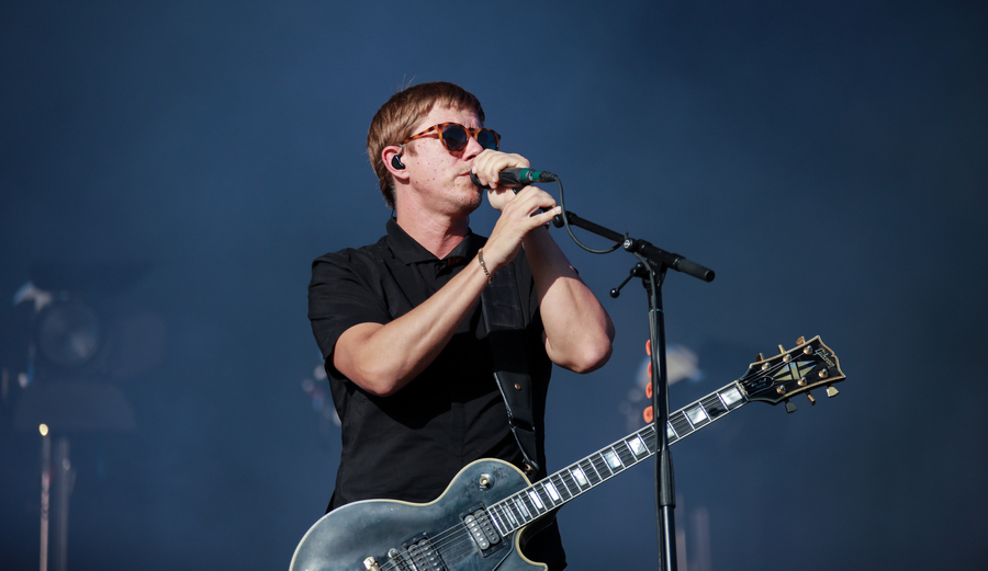 Interpol live at TRNSMT 2018, Glasgow Green