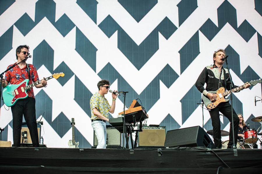 Franz Ferdinand live at TRNSMT 2018, Glasgow Green