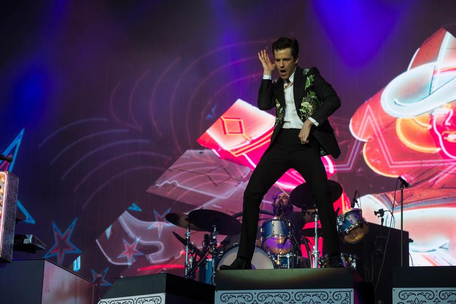 The Killers live at TRNSMT 2018, Glasgow Green, 8 Jul