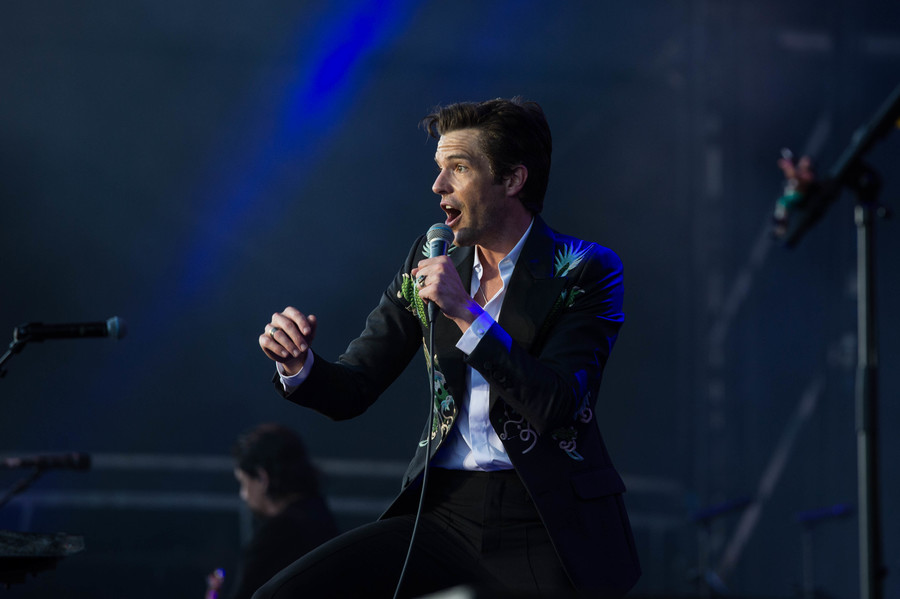 The Killers live at TRNSMT 2018, Glasgow Green, 8 Jul
