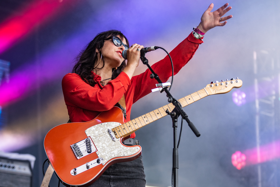 Juanita Stein live at TRNSMT 2018, Glasgow Green