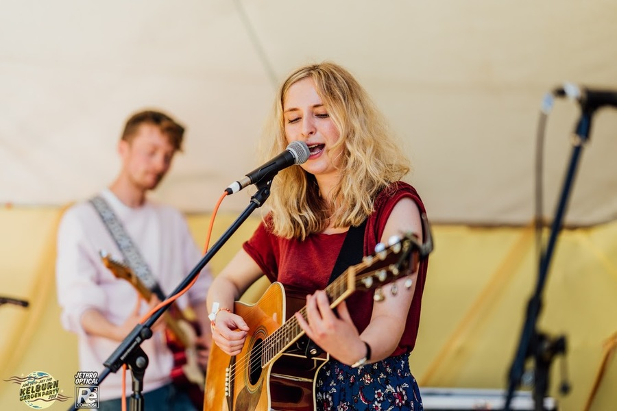 Annie Booth live at Kelburn Garden Party 2018
