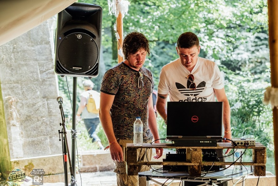 Bless This Machine live at Kelburn Garden Party 2018
