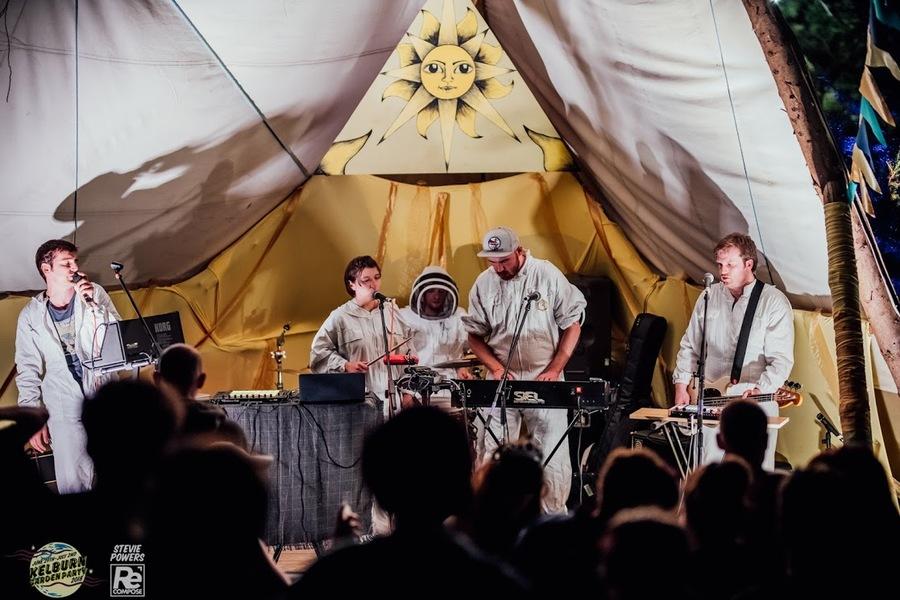 Future Get Down live at Kelburn Garden Party 2018