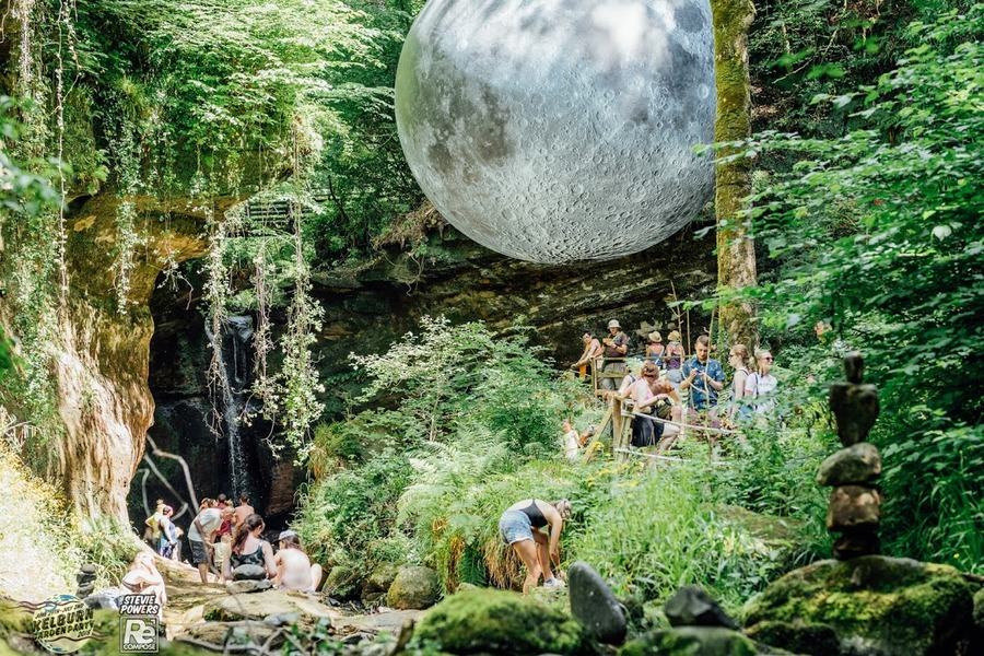 Museum of the Moon at Kelburn Garden Party 2018