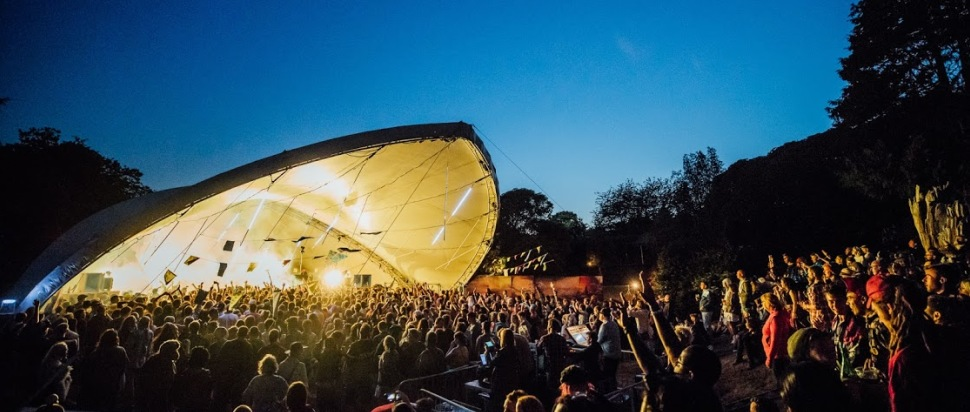The Landing Stage at Kelburn Garden Party 2018