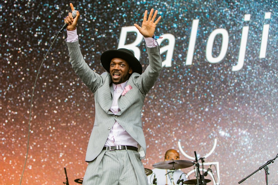 Baloji live at Bluedot Festival 2018