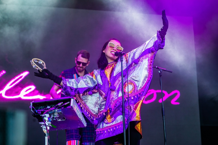 Little Dragon live at Bluedot Festival 2018