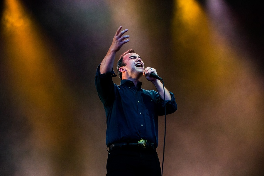 Future Islands live at Bluedot Festival 2018