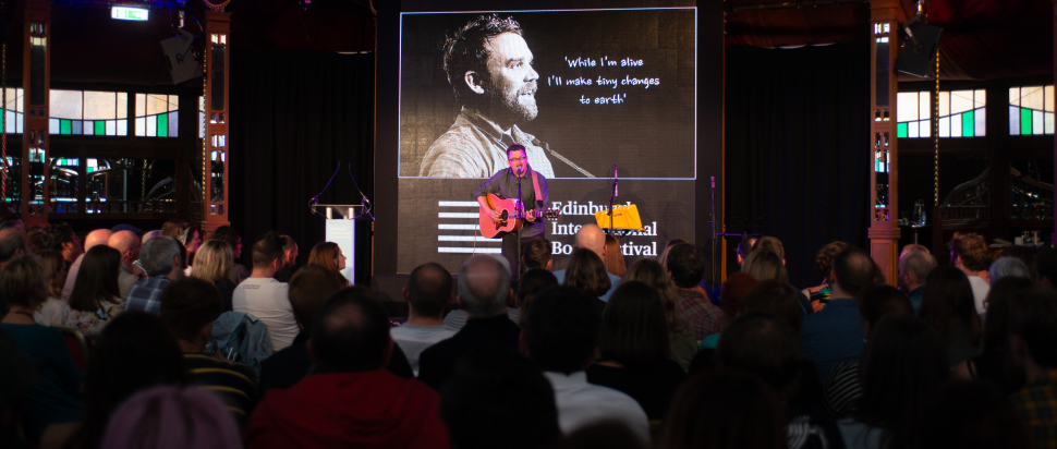 Michael Pedersen on Oyster Party for Scott Hutchison