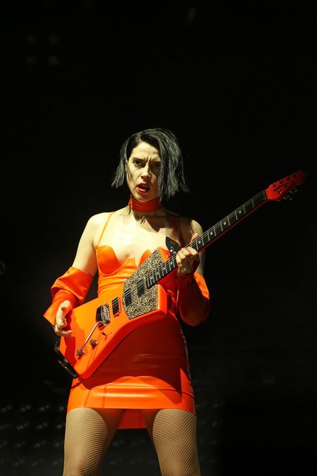 St Vincent live at Flow Festival 2018