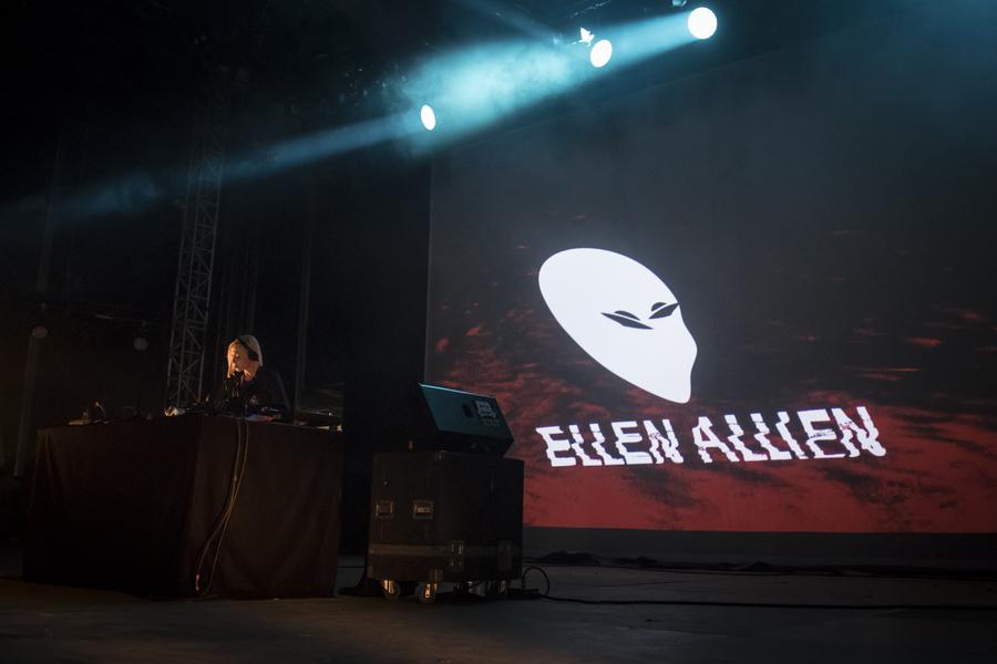 Ellen Allien live at La Route du Rock, Saint-Malo, 16-19 Aug