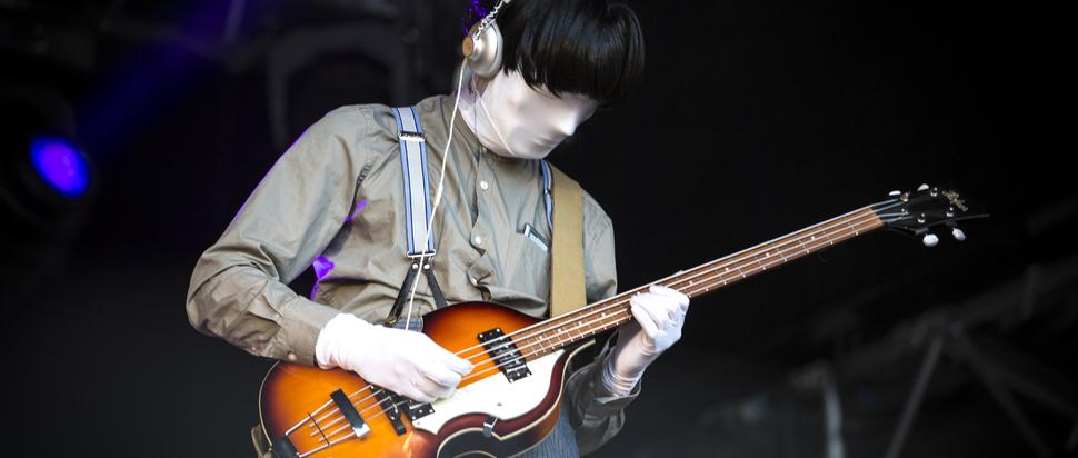 Jonathan Bree live at La Route du Rock, Saint-Malo, 16-19 Aug