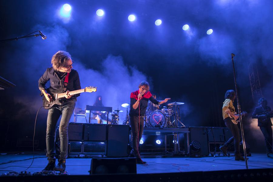 Phoenix live at La Route du Rock, Saint-Malo, 16-19 Aug