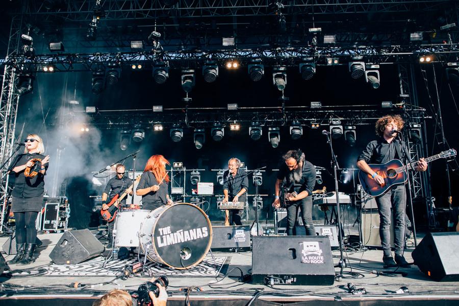 The Limiñanas live at La Route du Rock, Saint-Malo, 16-19 Aug