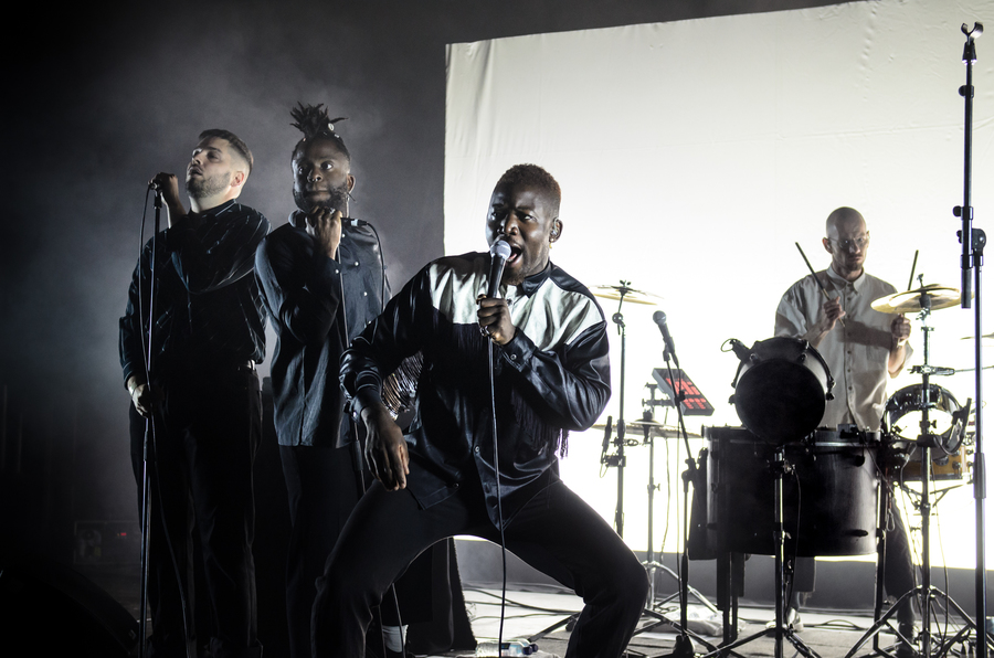 Young Fathers live at Electric Fields 2018
