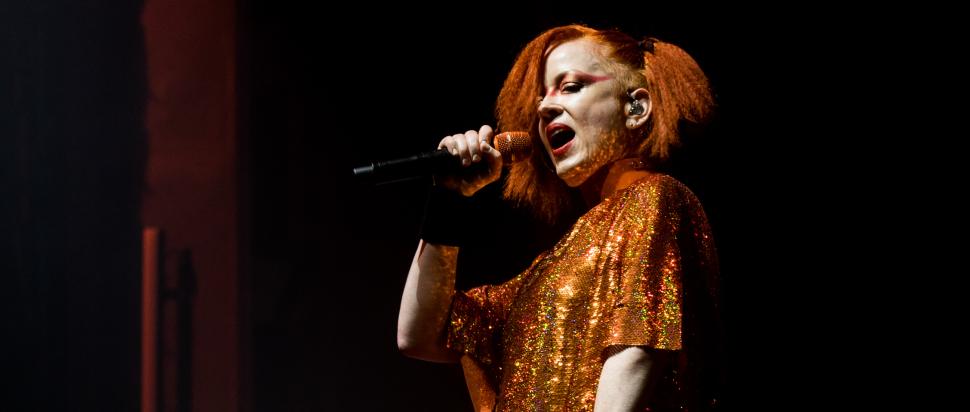 Garbage live at The Festival Theatre, Edinburgh