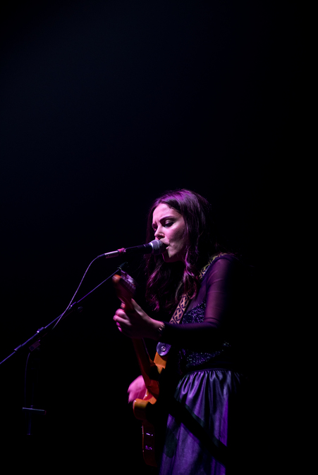 Honeyblood supporting Garbage live at The Festival Theatre, Edinburgh