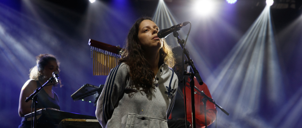 Tirzah live at End of the Road 2018