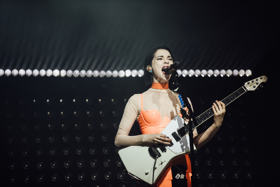 St Vincent live at End of the Road 2018 1