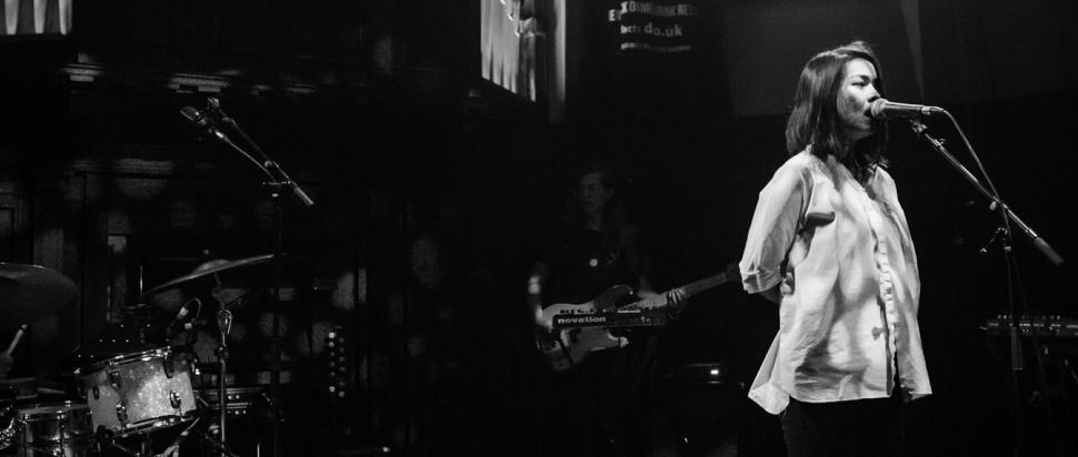 Mitski live at St Luke's, Glasgow