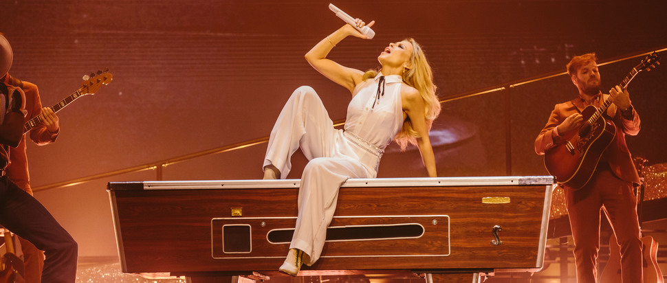 Kylie live at The SSE Hydro, Glasgow