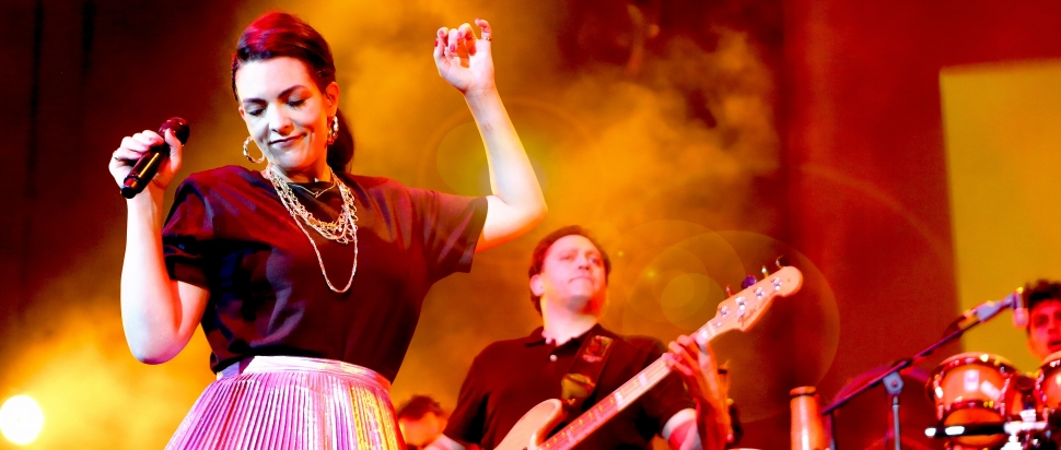 Caro Emerald live at Usher Hall, Edinburgh