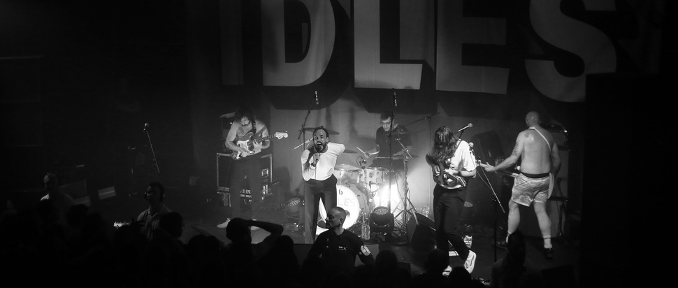 IDLES live at QMU, Glasgow
