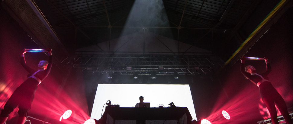 Jon Hopkins live at SWG3 Galvanizers, Glasgow, 19 Oct