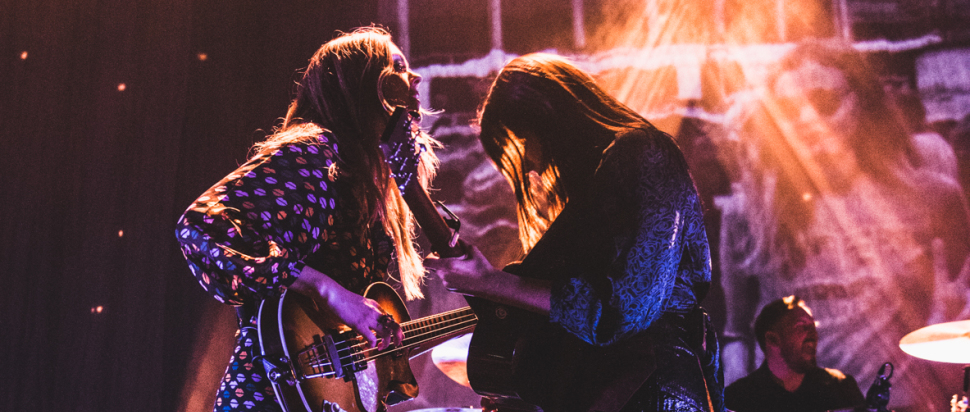 First Aid Kit live at Usher Hall, Edinburgh