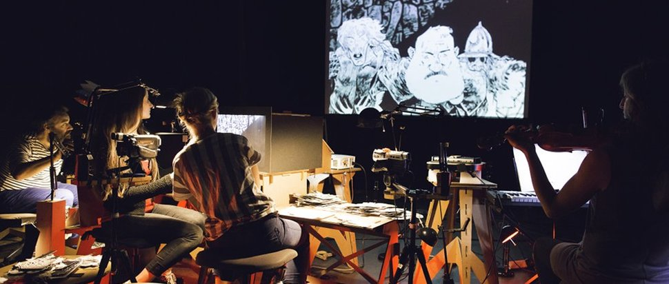 Macbeth by Paper Cinema