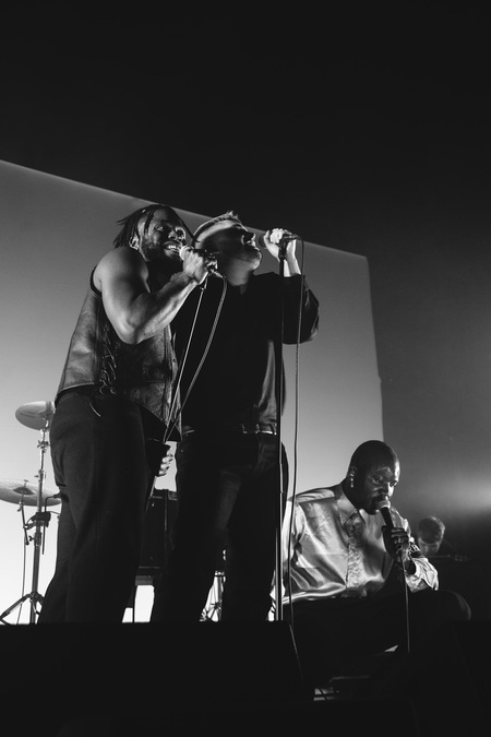 Young Fathers live at The O2 Academy, Glasgow