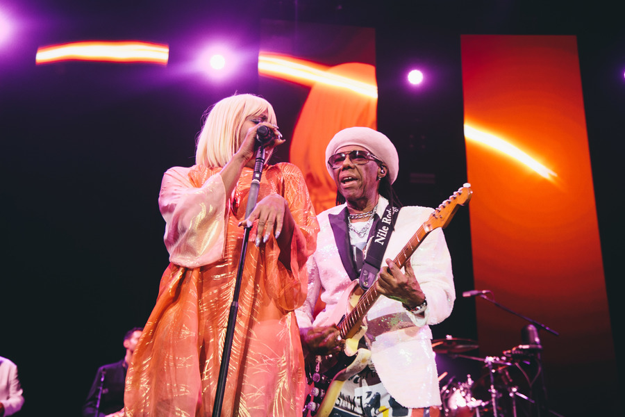 Nile Rodgers live at the SSE Hydro, Glasgow