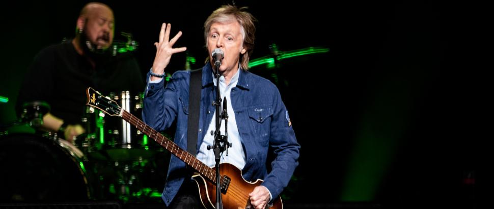 Paul McCartney live at SSE Hydro, Glasgow, 14 Dec