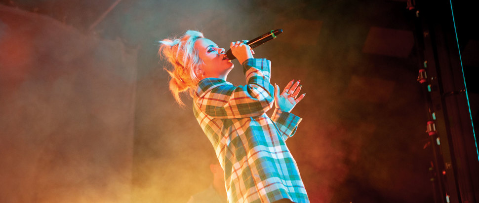 Lily Allen live at The Barrowlands, Glasgow